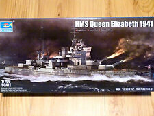 Trumpeter 1:700 HMS Queen Elizabeth 1941 British Battleship Model Kit