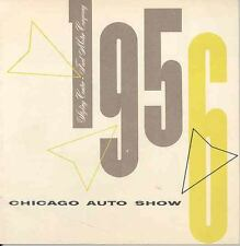 1956 Ford Chicago Auto Show Experimental Brochure 111527-84FIYL