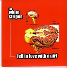 "THE WHITE STRIPES ""Fell in love with a girl"" 2 Track  7 Inch RED Vinyl RSD 2012"