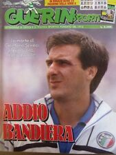 GUERIN SPORTIVO=N°36 1989=ADDIO BANDIERA GAETANO SCIREA