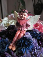 Cicely Mary Barker MULBERRY Flower Fairy Ornament Figurine RETIRED!  #86955