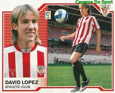 DAVID LOPEZ ESPANA ATHLETIC CLUB STICKER LIGA ESTE 2008 PANINI
