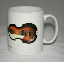 Guitar Mug. Paul McCartney's 1963 Hofner 500/1 Violin Bass illustration.