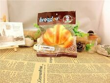 1pc Scented BREADOU CROISSANT bread Squishy Charms Cellphone Bread Strap