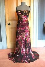 "GORGEOUS MONSOON ""EVENING NYMPH"" LONG EVENING DRESS, SIZE 14"