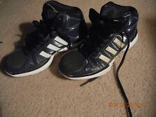 ADIDAS PRO MODEL WOMENS BASKETBALL SHOES SIZE 7.5=USED FOR PRATICE (COURT ONLY)