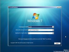 WINDOWS 7 32 & 64 bit Recovery ReInstall Repair Disc Home basic Premium & Pro