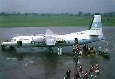Maersk Air Fokker F-27-500 Friendship OY-APC at Manchester Airport UK Postcard