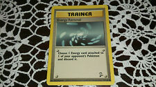 Energy Removal Pokemon Card COMMON Trainer