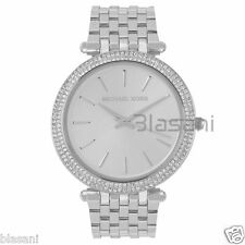 Michael Kors Original MK3190 Women's Darci Silver Stainless Steel Bracelet Watch