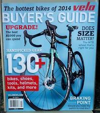 Velo Bicycling Magazine 2014 Buyer's Guide - Handpicked Gear - Does Size Matter?