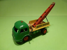 GAMA MERCEDES BENZ - RECOVERY TRUCK - SERVICE - GREEN 1:55? - GOOD CONDITION