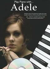 Play Piano with Adele Sheet Music Book and Playalong CD Pop Chords Songbook B29