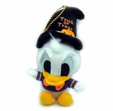 Disney Donald Duck Happy Halloween Mini Plush Doll Key Chain 7""