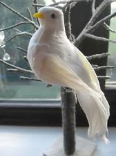 White Feather Love Dove - Artificial Dove - Peace / Weddings etc