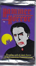 HAMMER HORROR - Classic Horror Trading Cards Packs (16) by Cornerstone #NEW