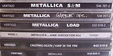 Metallica- Creeping Death/ Jump in the Fire ua.- Zus.8 CDs