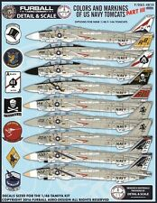 Furball decal 1/48 USN F-14 Tomcats Colors & Markings Part III- FDS4810