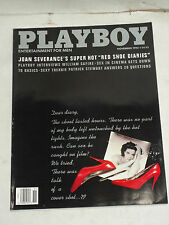 "Playboy Magazine November 1992 ""Cover: Joan Severance's, Red Shoe Diaries"" SNY"