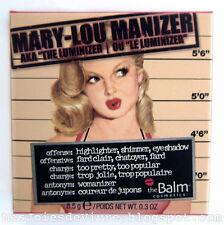 The Balm MARY LOU Manizer Highlighter Face ❤ Eyes powder Shimmer ❤ Shadow 0.3oz