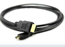 Micro HDMI Type D HDMI Cable Type A cable connect Cemera Tablets etc To HDTV
