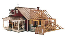 COUNTRY STORE EXPANSION KIT BY LANDMARK STRUCTURES O-SCALE-EASY BUILD & FUN!