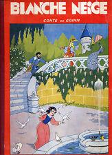 GRIMM, BLANCHE NEIGE ILLUSTRATIONS D'EVARISTE (1952)