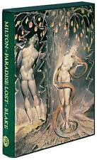 PARADISE LOST ~ JOHN MILTON ~ FOLIO SOCIETY ~ ILLUS by WILLIAM BLAKE ~ SLIPCASED