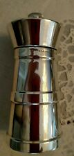 Tiffany & CO LARGE STERLING SILVER MILK CAN PEPPER MILL/SHAKER ENGLAND
