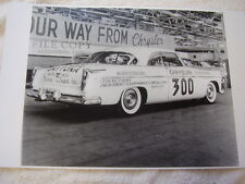 1955 ? CHRYSLER 300 NASCAR    11 X 17  PHOTO /  PICTURE