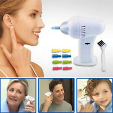 Cleaner Soft Wax Remover Painless New WaxVac Electric Cordless Safety Ear Vacume