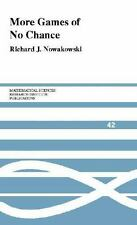 More Games of No Chance (Mathematical Sciences Research Institute Publ-ExLibrary