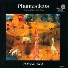 Phantasticus: 17th Century Italian Violin Music EXCELLENT!! CD, Harmonia Mundi