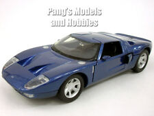 Ford GT Concept Coupe 1/24 Scale Diecast Metal Model - BLUE