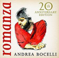 ANDREA BOCELLI ROMANZA 20th ANNIVERSARY EDITION CD ALBUM (2016)