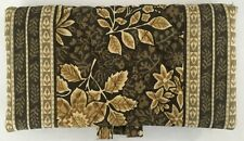 Vera Bradley Retired Rare Java Brown Checkbook Cover Excellent Hard To Find