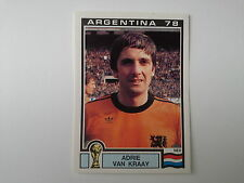 PANINI WORLD CUP STORY - N.119 - WC ARGENTINA 78 - VAN KRAAY NEDERLAND