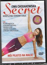 4 Disc EWA CHODAKOWSKA   Secret ,Turbo Wyzwanie, Skalpel Wyzwanie  DVD POLISH