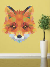 ced451 Full Color Wall decal Sticker Fox animals living room bedroom