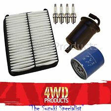 Filter & Spark Plug SET - Suzuki Grand Vitara 3/5Dr 2.0 J20A (98-05)