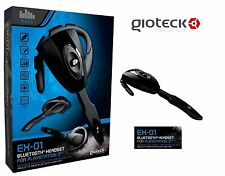NEW FOR SONY PS3 PLAYSTATION 3 WIRELESS BLUETOOTH GAMING HEADSET (GIOTECK EX-01)