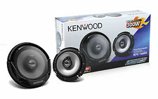 Kenwood KFC-1665S 2-Way 6.5 Inch Car Audio Speakers 6 1/2 Inch - Brand New