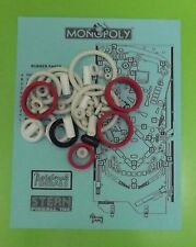 2001 Stern Monopoly pinball rubber ring kit