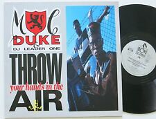 MC DUKE & THE LEADER ONE THROW YOUR HANDS IN THE AIR ORIG BCM 12 INCH MAXI
