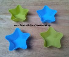 4pcs Star Bento Tools Puto Jelly Cupcake Chocolate Baking Pan Molder Mold Cups