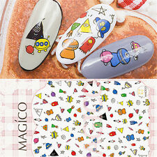 1 Pc 3D Nail Sticker Childishness Cartoon Space Design Manicure Decal Decor DIY