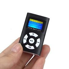 "32GB MP3 Player Slim Music Media Digital 1.8"" LCD Screen MicroSD Card Metal"