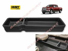 HUSKY GEARBOX UNDER REAR SEAT STORAGE BOX FOR 2015-2017 F150 SUPERCREW CREW CAB