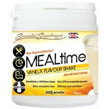 MEALtime Replace Vanilla Soya PROTEIN SHAKE Dairy Lactose Gluten Free Supplement