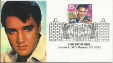 ELVIS PRESLEY - FIRST DAY COVER 042 ELVIS STAMP